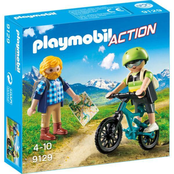 Конструктор Playmobil «Байкер и путешественник» (арт. 9129)