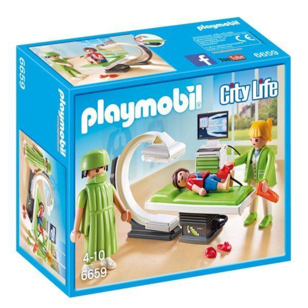 Конструктор Playmobil Детская клиника: Рентгеновский кабинет
