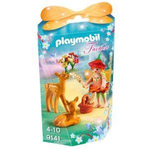 Конструктор Playmobil Девочка-фея с оленятами