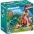 Конструктор Playmobil «Динозавры: Гоночный мотоцикл с ящером» (арт. 9431)