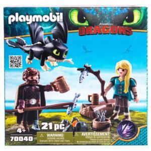 Конструктор Playmobil «Драконы III: Иккинг и Астрид» (арт. 70040)