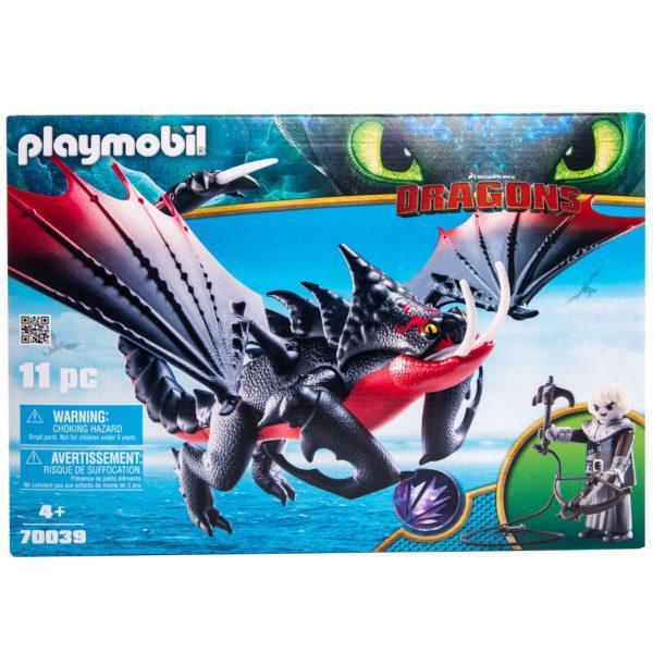 Конструктор Playmobil Драконы III: Смертолап и Гриммель
