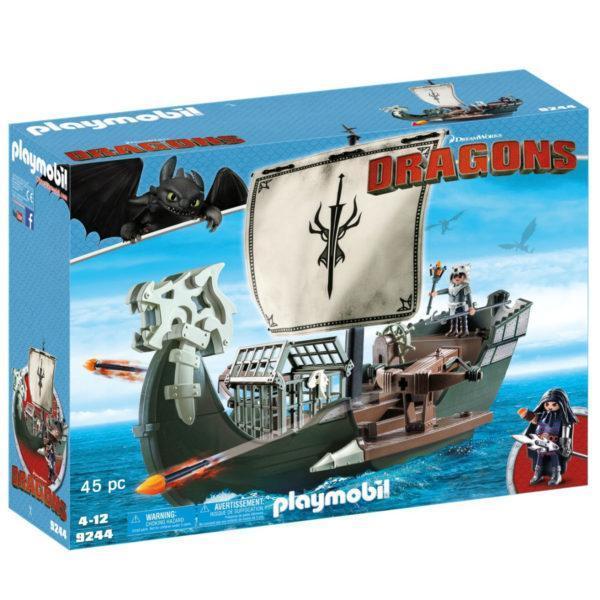 Конструктор Playmobil Драконы: Корабль Драго