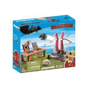 Конструктор Playmobil Драконы: Плевака и Вепр