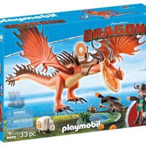 Конструктор Playmobil «Драконы: Сморкала и Криволык» (арт. 9459)