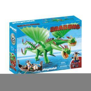 Конструктор Playmobil Драконы: Забияка и Задирака