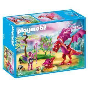 Конструктор Playmobil Дружелюбный дракон с ребенком