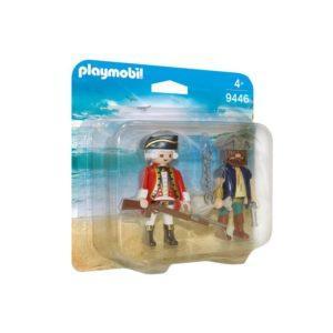 Конструктор Playmobil. ДУО. Пират и солдат