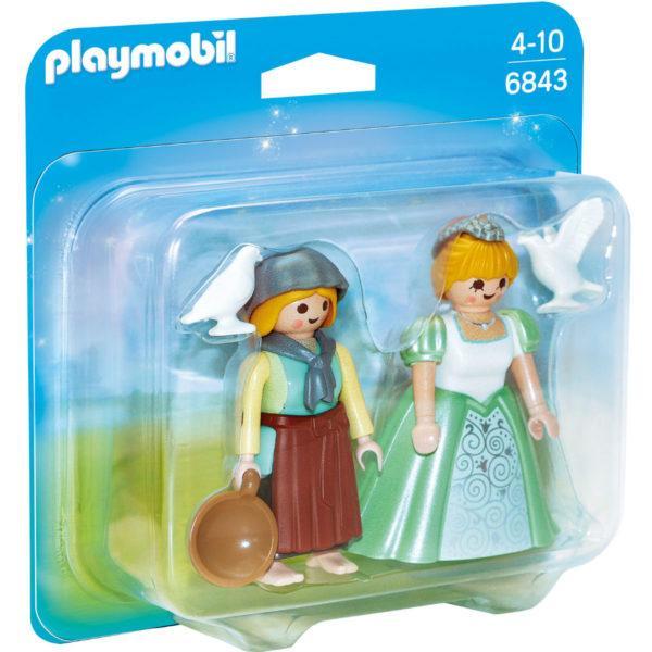 Конструктор Playmobil ДУО: Принцесса и служанка