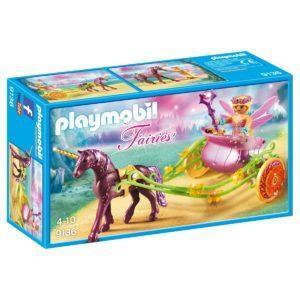 Конструктор Playmobil «Феи: Расписанный Единорогами сказочный экипаж» (арт. 9136)