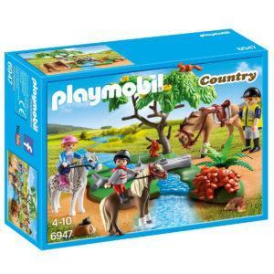 Конструктор Playmobil Ферма Пони: Верховая езда