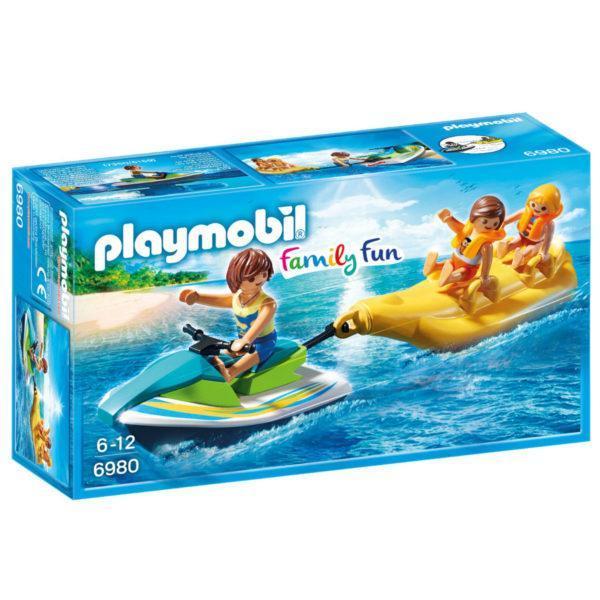 Конструктор Playmobil «Гидроцикл с лодкой банан» (арт. 6980)