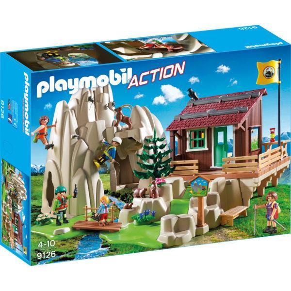 Конструктор Playmobil «Горноспасательная: Скалолаз с кабиной» (арт. 9126)