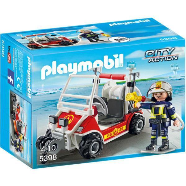 Конструктор Playmobil «Городской Аэропорт: Пожарный квадроцикл» (арт. 5398)
