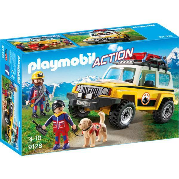 Конструктор Playmobil «Грузовик горноспасателей» (арт. 9128)