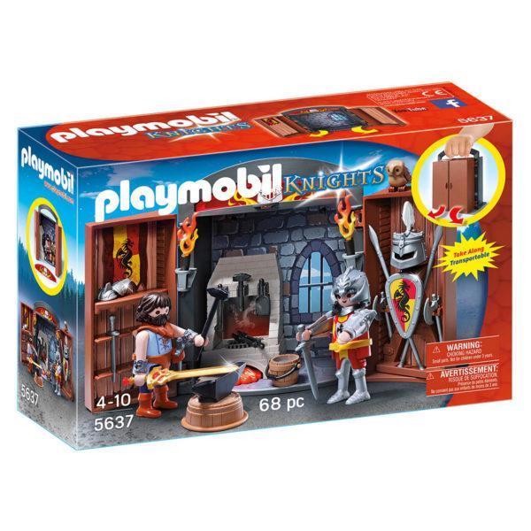 """Конструктор Playmobil Игровой бокс """"Рыцари с оружием"""""""