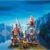 Конструктор Playmobil Яйцо: Викинги с щитами