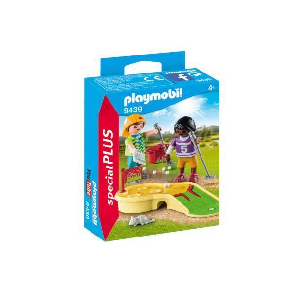 Конструктор Playmobil «Экстра-набор: Играющие дети в минигольф» (арт. 9439)