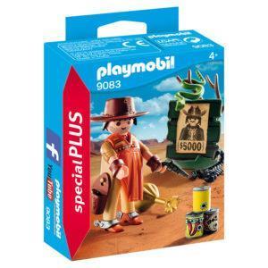 """Конструктор Playmobil Экстра-набор: Ковбой с постером """"Разыскивается"""""""