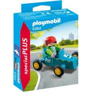 Конструктор Playmobil Экстра-набор: Мальчик с картом