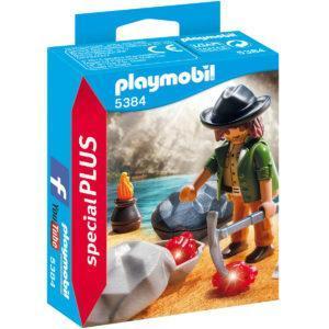 Конструктор Playmobil Экстра-набор: Охотник за драгоценными камнями