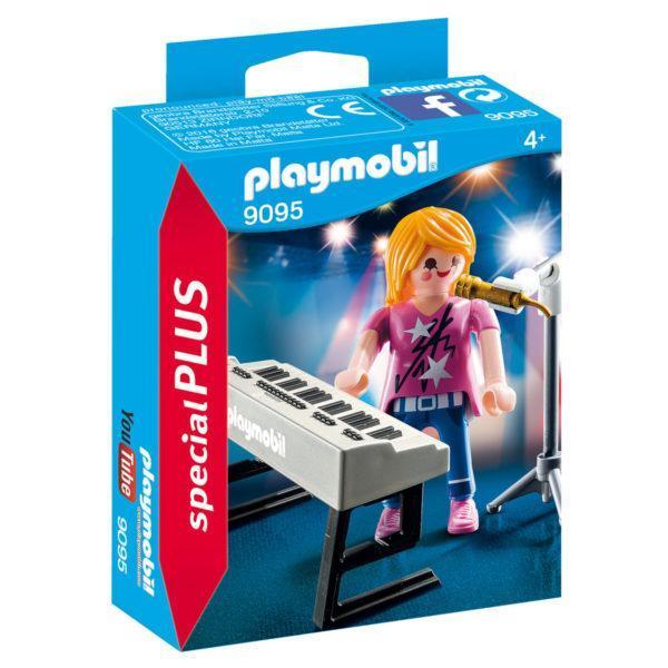 Конструктор Playmobil «Экстра-набор: Певица с синтезатором» (арт. 9095)