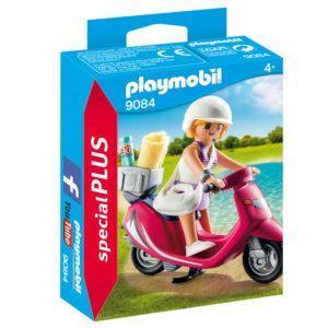 Конструктор Playmobil Экстра-набор: Посетитель пляжа со скутером