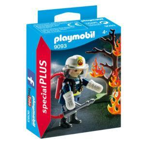 Конструктор Playmobil «Экстра-набор: Пожарник с деревом» (арт. 9093)