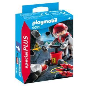 Конструктор Playmobil Экстра-набор: Рок-бластер со щебнем