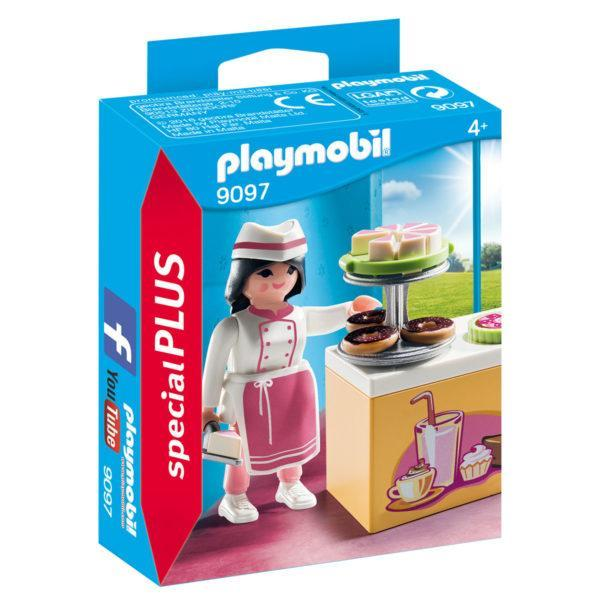 Конструктор Playmobil Экстра-набор: Шеф-кондитер