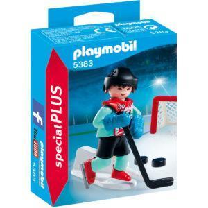 Конструктор Playmobil Экстра-набор: Тренировка хоккей