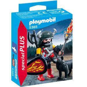 Конструктор Playmobil Экстра-набор: Воин Волка