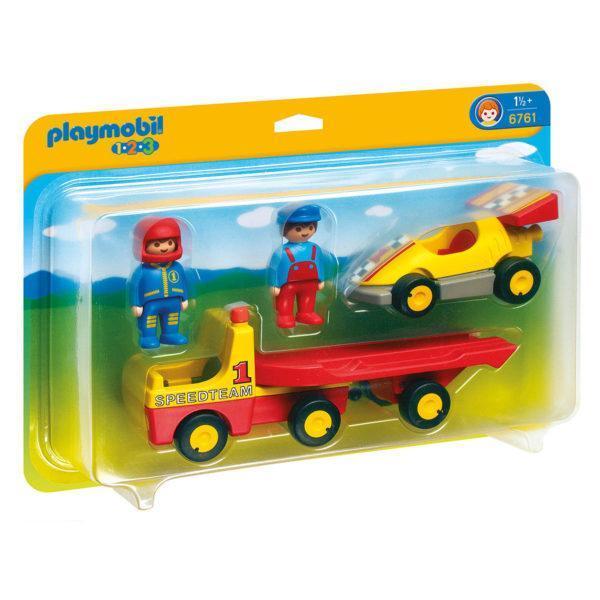 Конструктор Playmobil «Эвакуатор с гоночным автомобилем» (арт. 6761)