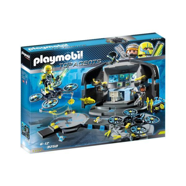 Конструктор Playmobil Командный пункт доктора Дрона