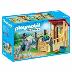 Конструктор Playmobil Конный клуб: Конюшня со скакунами аппалузской породы