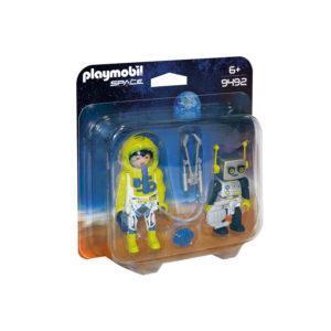 """Конструктор Playmobil Космос: Набор """"Астронавт и робот"""""""