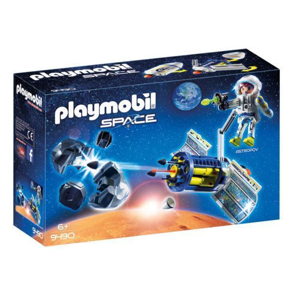 Конструктор Playmobil «Космос: Спутниковый метеороидный лазер» (арт. 9490)