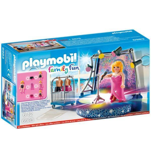 Конструктор Playmobil Круизный Лайнер: Певица со сценой