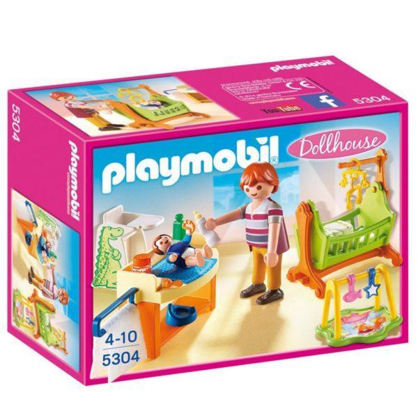 Конструктор Playmobil Кукольный дом: Детская комната с люлькой