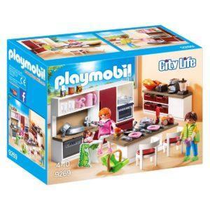 Конструктор Playmobil Кукольный дом: Кухня