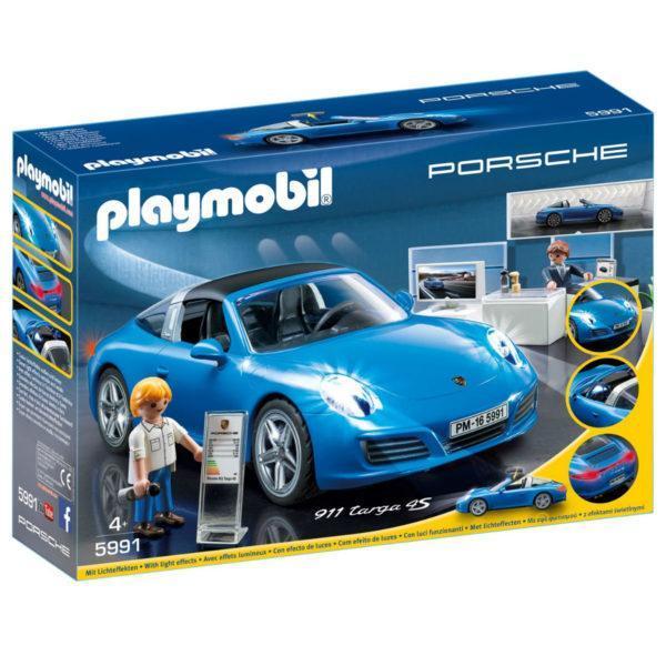 Конструктор Playmobil Лицензионные автомобили: Porsche 911 Targa 4S