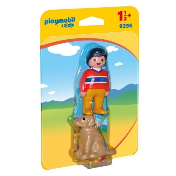 Конструктор Playmobil Мужчина с собакой