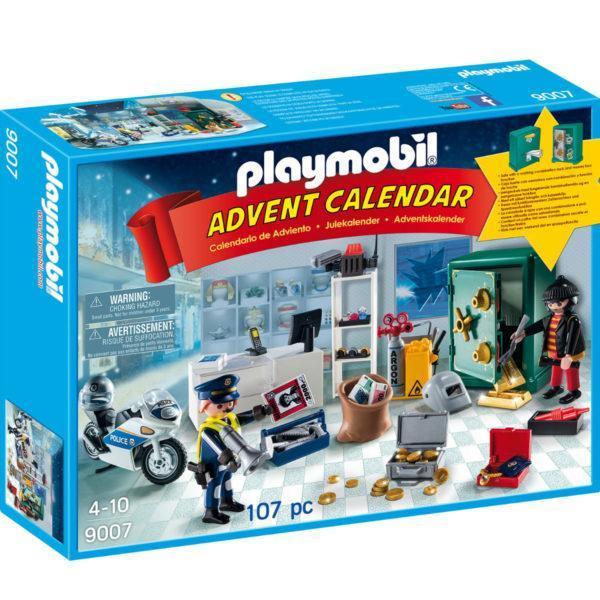 Конструктор Playmobil Набор-календарь: Полицейская операция - украденные украшения