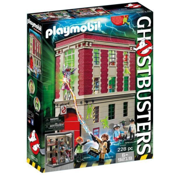 Конструктор Playmobil «Охотник за привидениями: Здание пожарной службы» (арт. 9219)