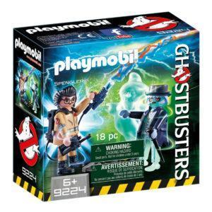 Конструктор Playmobil «Охотники за привидениями: Игон Спенглер и привидение» (арт. 9224)