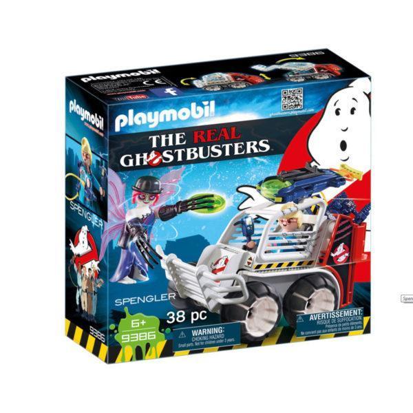 Конструктор Playmobil «Охотники за привидениями: Спенглер с клеткой-автомобилем» (арт. 9386)