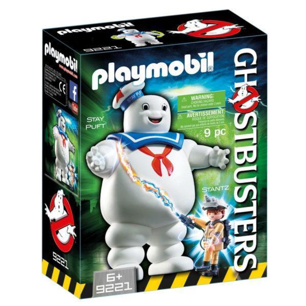 Конструктор Playmobil «Охотники за привидениями: Зефирный человек» (арт. 9221)