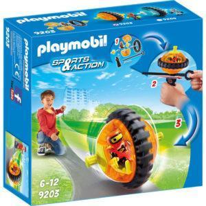 Конструктор Playmobil Оранжевый гонщик на роликах