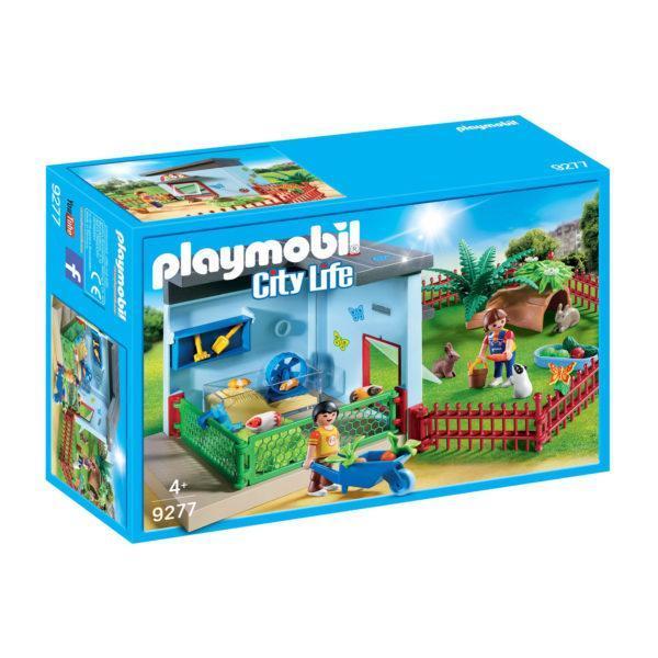 Конструктор Playmobil «Отель для животных: Пансион для маленьких животных» (арт. 9277)