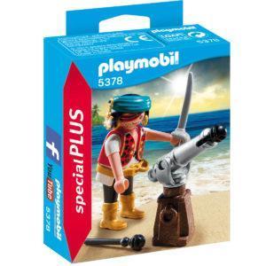 Конструктор Playmobil «Пират с пушкой» (арт. 5378)